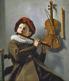 The Young Flute Player by Judith Leyster