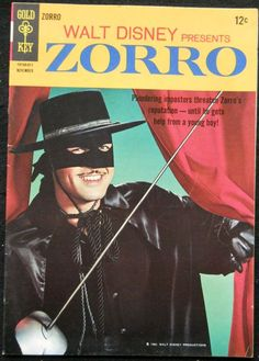 Vintage Zorro Comic Book