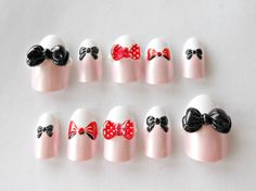 Big Bow Nails ⑅ $18.50 ⑅