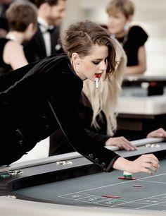 Kristen Stewart at the Chanel Fashion Show in Paris, July 7th