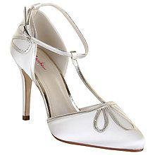 Buy Rainbow Club Elspeth Stiletto Heeled Sandals, Ivory Satin Online at johnlewis.com