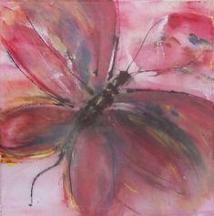 Butterfly - Ζωγραφική, 30x30x2 cm ©2018 από EP - Μοντερνισμός, Βαμβάκι, Καμβάς, Butterfly Bloom, Butterfly, Artwork, Painting, Art Work, Work Of Art, Auguste Rodin Artwork, Painting Art, Butterflies