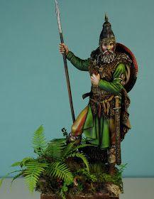Modelarstwo - Moja pasja: 75mm Slavic Warrior. Pegaso Samurai, Art, Pegasus, Art Background, Kunst, Performing Arts, Samurai Warrior, Art Education Resources, Sanat