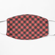 Red Flannel, Red Plaid, Face Masks, Art Prints, Printed, Awesome, Cute, Stuff To Buy, Design