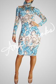 2547feee37 Fashion Bomb Classic (Turq Snake). Angel Brinks