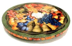 Old World Fruit Lazy Susan from Annie Modica