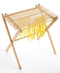for when I get around to making my own pasta Pasta Drying Rack, Kitchen Makeovers, Making Tools, Kitchen Gadgets, Clothes Hanger, Project Ideas, Wood Projects, Dyi, Diy Crafts