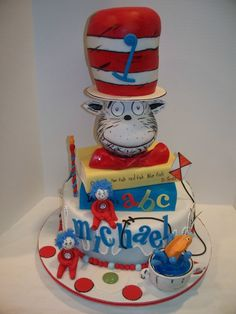Dr. Seuss Birthday — Birthday Cakes