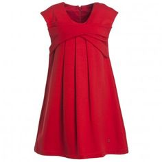 Dior Red Milano Jersey Dress at Childrensalon.com