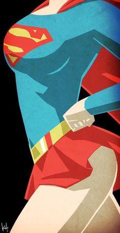 Supergirl bust