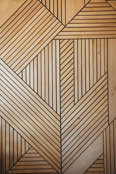 This design of materials is inspiring because of the patterns the intersection pieces of wood create. I would design a hard wood flooring out of this inspiration. Into The Woods, Floor Patterns, Wall Patterns, Paint Patterns, Floor Design, Wall Design, Door Texture, Wood Wall Texture, Wall Textures
