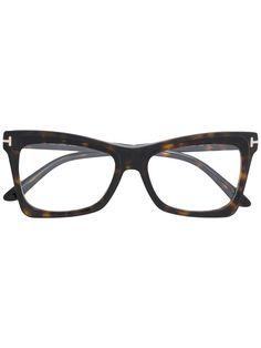 31aed599da TOM FORD EYEWEAR rectangle frame glasses.  tomfordeyewear