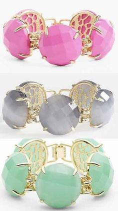 Love these Kendra Scott stone bracelets http://rstyle.me/n/niy6hnyg6 I need these!!!!