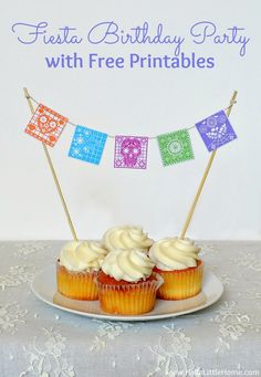 Fiesta-Themed Birthday Party with Free Printables   Hello Little Home