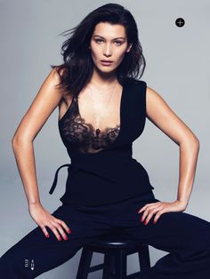 ☆ Bella Hadid | Photography by David Bellemere | For Elle Magazine US | May 2015 ☆ #Bella_Hadid #David_Bellemere #Elle #2015