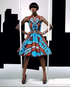 Beautiful Ankara Prom dress