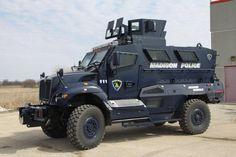 Madison PD SWAT Truck.