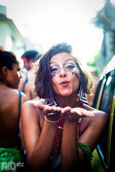 A gente foi de bloquinho em bloquinho, da Urca à Gamboa no carnaval desse ano.