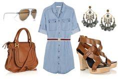 summer clothes -- fall clothes
