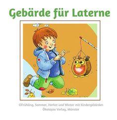 sprechende-haende.de - Der größte Blog über Kindergebärden: Gebärde für Laterne