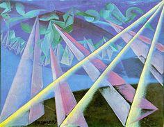 Saatchi Gallery: Italian Futurist Giacomo Balla was born in Turin in His 'Spirit-Form Transformation' . Gino Severini, Umberto Boccioni, Giacomo Balla, Italian Futurism, Futurism Art, Modernisme, Saatchi Gallery, Italian Painters, Art Abstrait