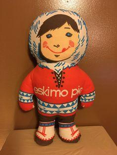 Vintage Eskimo Pie Advertising Doll from the 1960s Eskimo Soft Doll by SheBangArt on Etsy