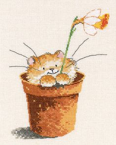 ru / Foto n º 70 - 2 - gatos Just Cross Stitch, Cross Stitch Art, Cross Stitch Animals, Cross Stitch Designs, Cross Stitching, Cross Stitch Patterns, Embroidery Art, Cross Stitch Embroidery, Cross Stitch Pictures