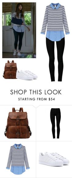 """Spencer Hastings - pll / pretty little liars"" by shadyannon ❤ liked on Polyvore featuring Cheap Monday and adidas"