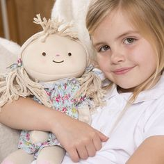 As the weather turns colder, let your little girl snuggle up to this adorable heatable rag doll
