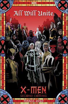 All will Unite :: X-Men: Second Coming promo by Daniel Acuña
