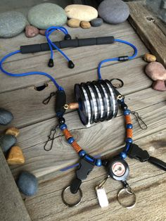 Fly Fishing Lanyard Rockies by Golden Trout by GoldenTroutLanyards