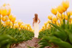 Photoshoot in Keukenhof, Anastasia Gaasenbeek www.fotosolo.nl