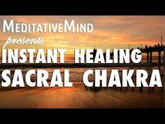 (Almost) Instant Sacral Chakra Healing Meditation Music - Svadhishthana Chakra Healing Music, Chakra Healing Meditation, Reiki Chakra, Daily Meditation, Mindfulness Meditation, Meditation Sounds, 2nd Chakra, Spiritual Music, Meditation Youtube