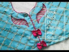 Neck Designs For Suits, Sleeves Designs For Dresses, Back Neck Designs, Blouse Neck Designs, Hand Work Blouse Design, Simple Blouse Designs, Stylish Blouse Design, Blouse Designs Catalogue, Churidar Neck Designs