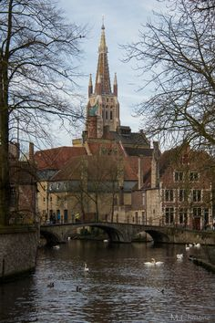Brugges, Belgium.  Church of Our Lady.