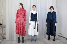 Xu Zhi Fall 2018: London Fashion Week