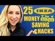25 IKEA Hacks & IKEA Tips! Save Money On Your Next IKEA Haul!  - YouTube