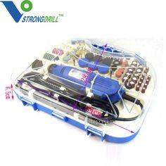 211pcs Jewelry Tool Kits Rotary Tools Accessories Mini Drill Grinder Set