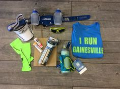 Stay hydrated and protected against the sun with some great accessories by Tifosi (sunglasses), Headsweats, Camelbak, CEP, and GU!