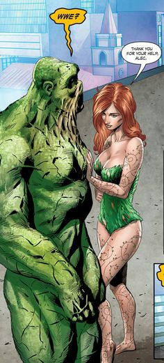 Swamp Thing and Poison Ivy