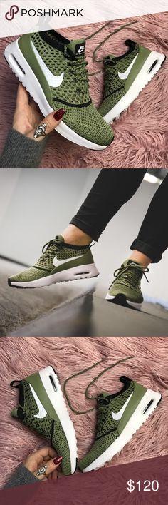 Nike Air Max Thea Ultra Flyknit Dark RaisinWhitePale Grey