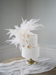 A classically romantic wedding in Charleston isn't complete without lace wedding dresses, and fresh garden roses. If you're looking to for a delightful twist, the dried bleached ferns and touch of coastal in the reception takes it from beautiful to GORGEOUS. Square Wedding Cakes, White Wedding Cakes, Beautiful Wedding Cakes, Wedding Cake Designs, Lace Wedding, Wedding Dresses, White Cakes, Garden Wedding, All White Wedding