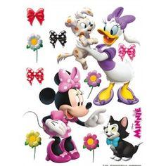 Maxi nálepky - Minnie a zvieratká