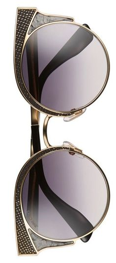 These Jimmy Choo sunglasses feature chic gradient lenses in a slender matte…