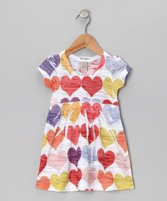 Vintage Highway Red Heart Tissue Dress - Infant, Toddler & Girls by Vintage Highway on #zulily today