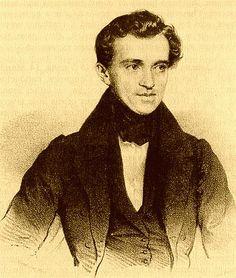 Johann Strauss I (Johann Baptist Strauß, Johann Strauss (Vater); also Johann Baptist Strauss, Johann Strauss, Sr., the Elder, the Father; March 14, 1804 – September 25, 1849) - Romantic Composer, famous for his waltzes.