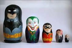 Super Heroes Russian Dolls