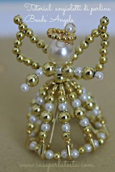 tutorial* How to make bead angels