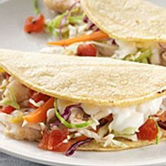 Grilled Fish Tacos with Roasted Corn and Pepitas