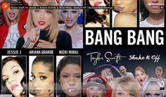 Mashup: Taylor Swift 'Shake It Off' Meets 'Bang Bang' by Jessie J, Ariana Grande and Nicki Minaj [AUDIO] - http://blog.dashburst.com/audio/taylor-swift-jessie-j-mashup-bang-it-off/